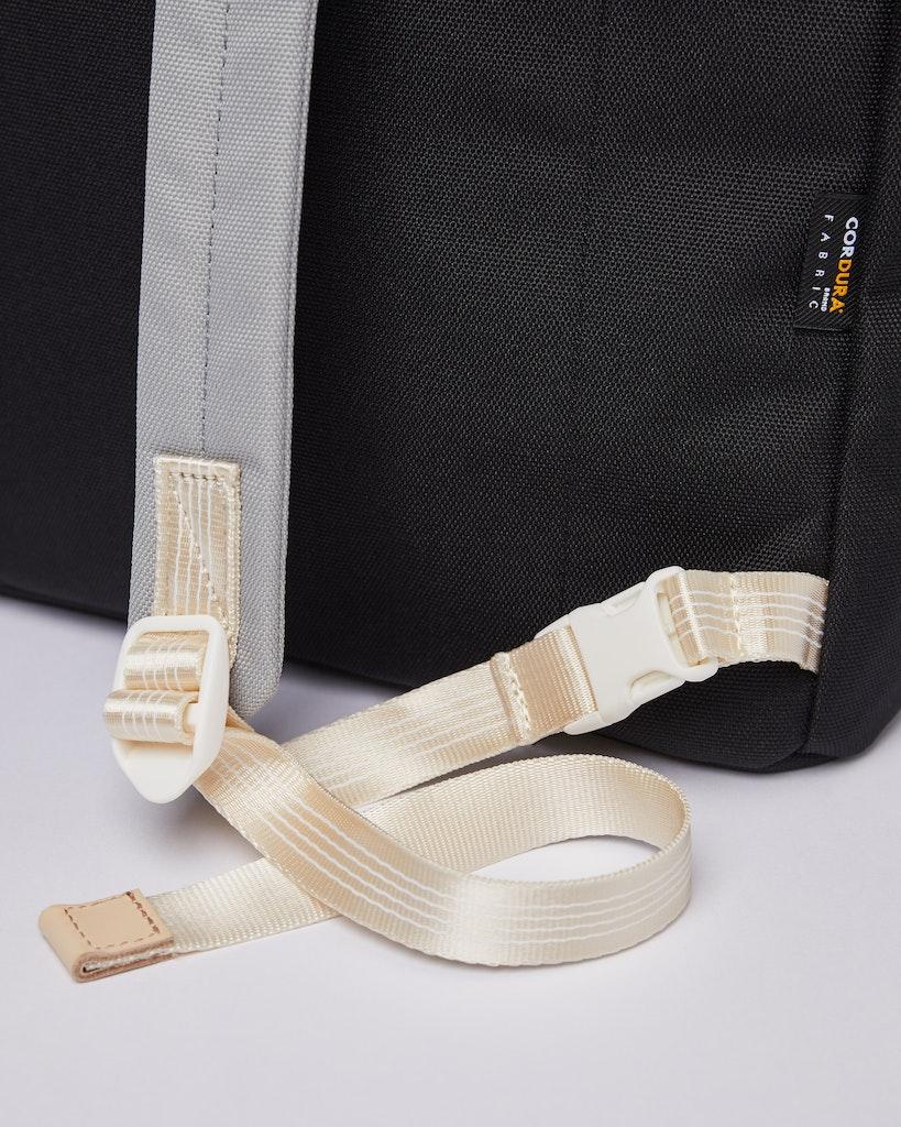Sandqvist - Backpack - Grey - Black - ROGER 5