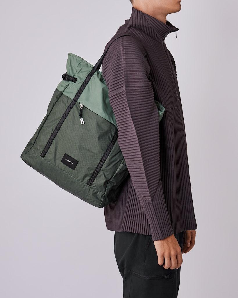 Sandqvist - Backpack - Dusty - Green - ROGER LIGHTWEIGHT 6