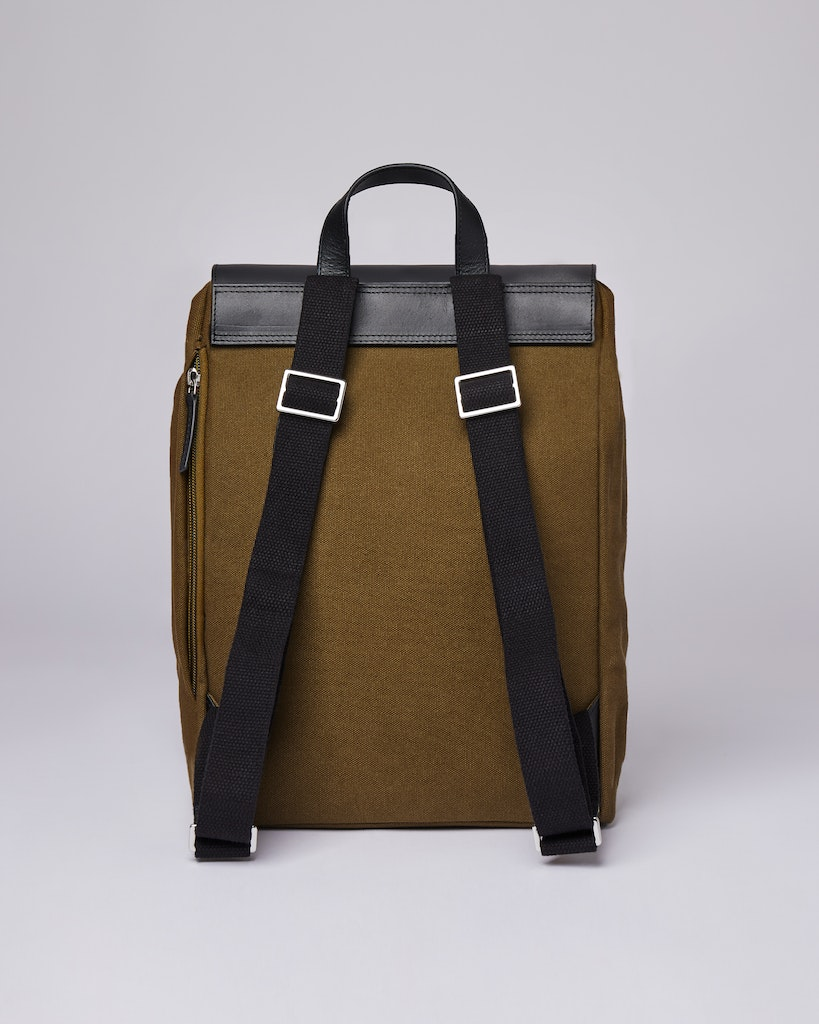 Sandqvist - Backpack - Olive - ALVA 3