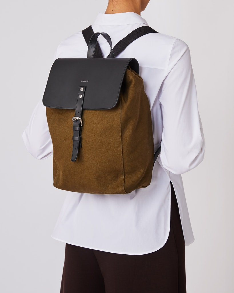 Sandqvist - Backpack - Olive - ALVA 2