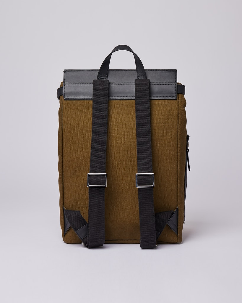 Sandqvist - Backpack - Olive - ALVA METAL HOOK 3