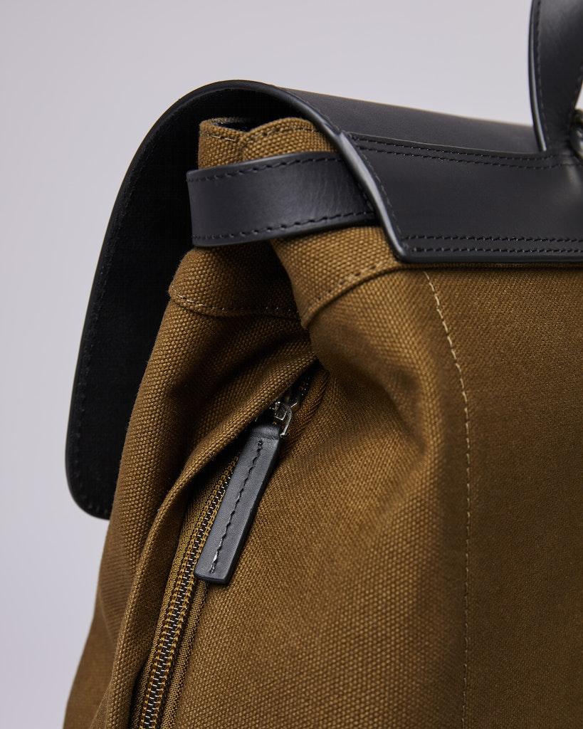 Sandqvist - Backpack - Olive - HEGE 4