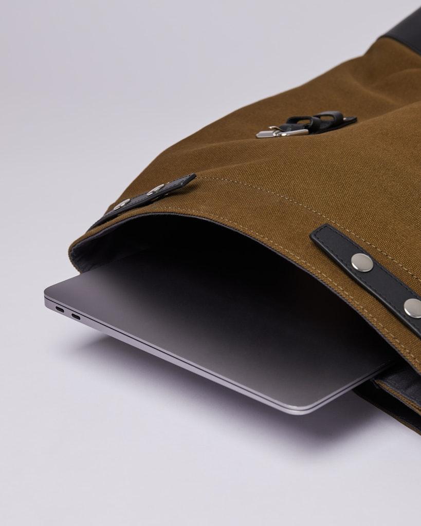 Sandqvist - Backpack - Olive - HEGE 3