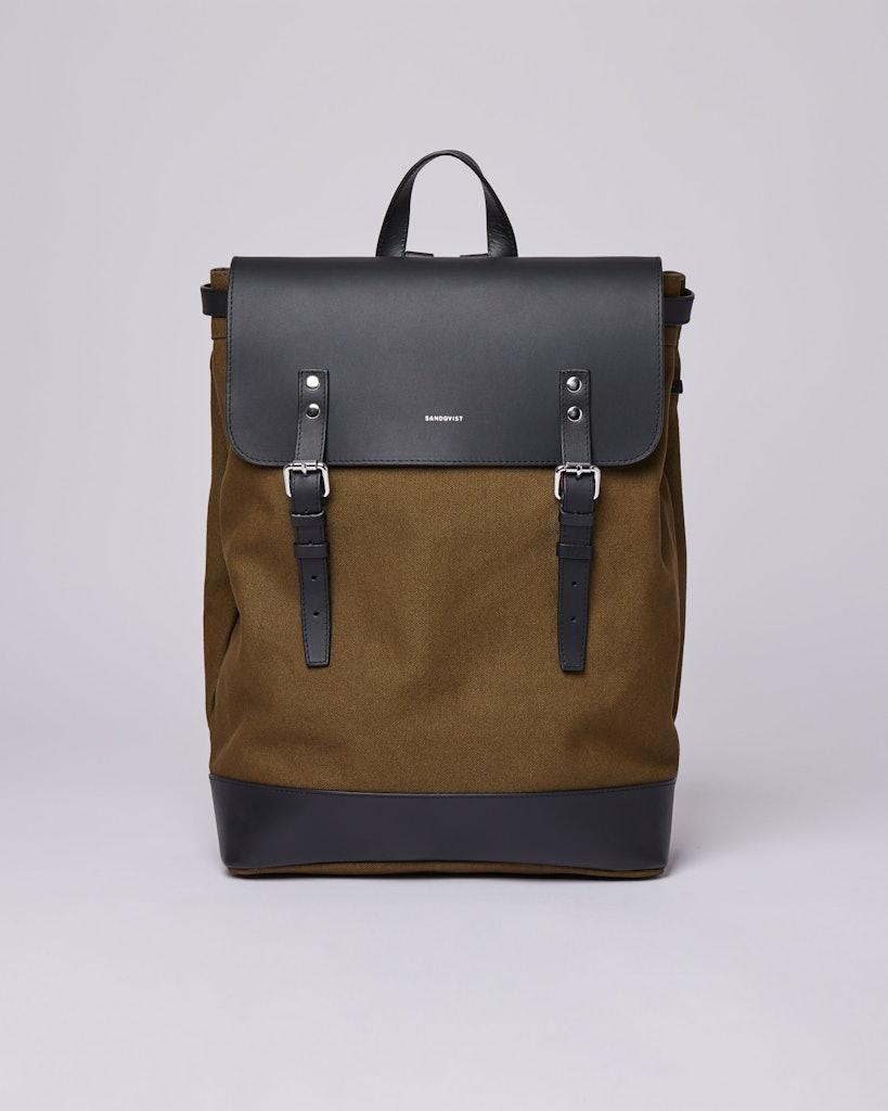 Sandqvist - Backpack - Olive - HEGE