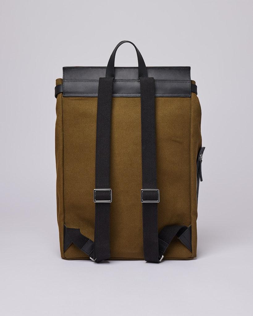 Sandqvist - Backpack - Olive - HEGE METAL HOOK 3
