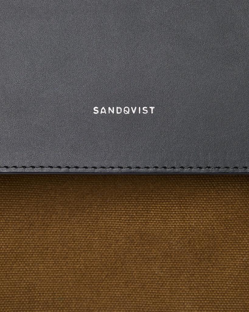 Sandqvist - Backpack - Olive - HEGE METAL HOOK 1