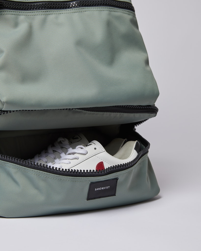 Sandqvist - Backpack - Dusty green - ALGOT 1