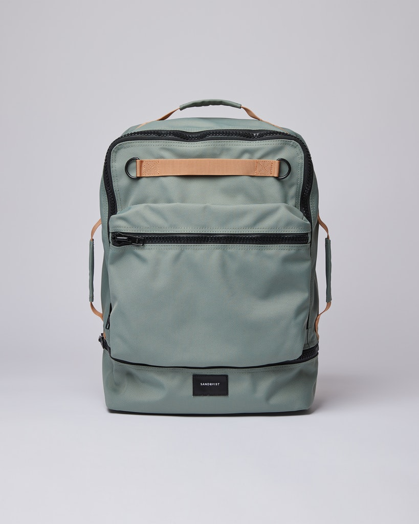 Sandqvist - Backpack - Dusty green - ALGOT