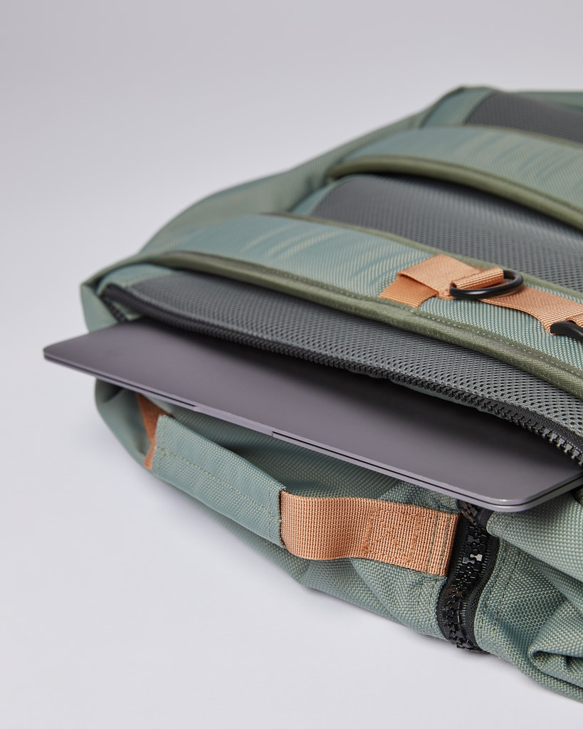 Sandqvist - Backpack - Dusty green - ALGOT 4