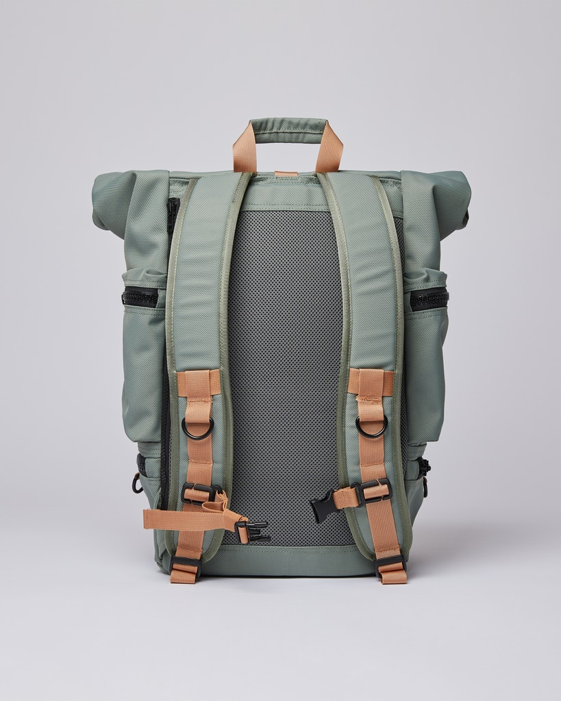 Sandqvist - Backpack - Dusty green - VERNER 2