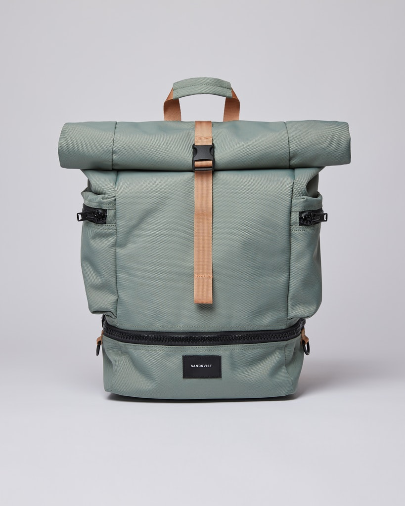 Sandqvist - Backpack - Dusty green - VERNER