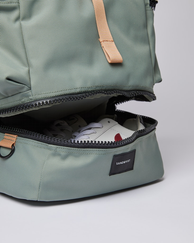 Sandqvist - Backpack - Dusty green - VERNER 5
