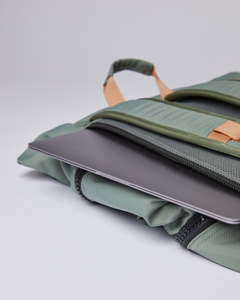Sandqvist - Backpack - Dusty green - VERNER 3