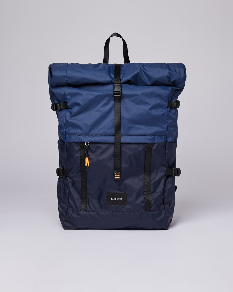 Sandqvist - Backpack - Multi - Navy - blueevening -blue - BERNT LW