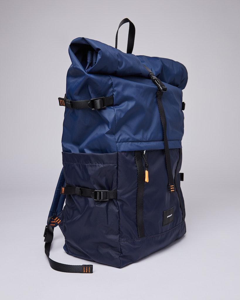 Sandqvist - Backpack - Multi - Navy - blueevening -blue - BERNT LW 3