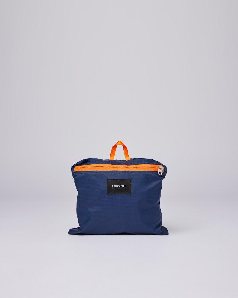 Sandqvist - Backpack - Multi - Navy - blueevening -blue - BERNT LW 5