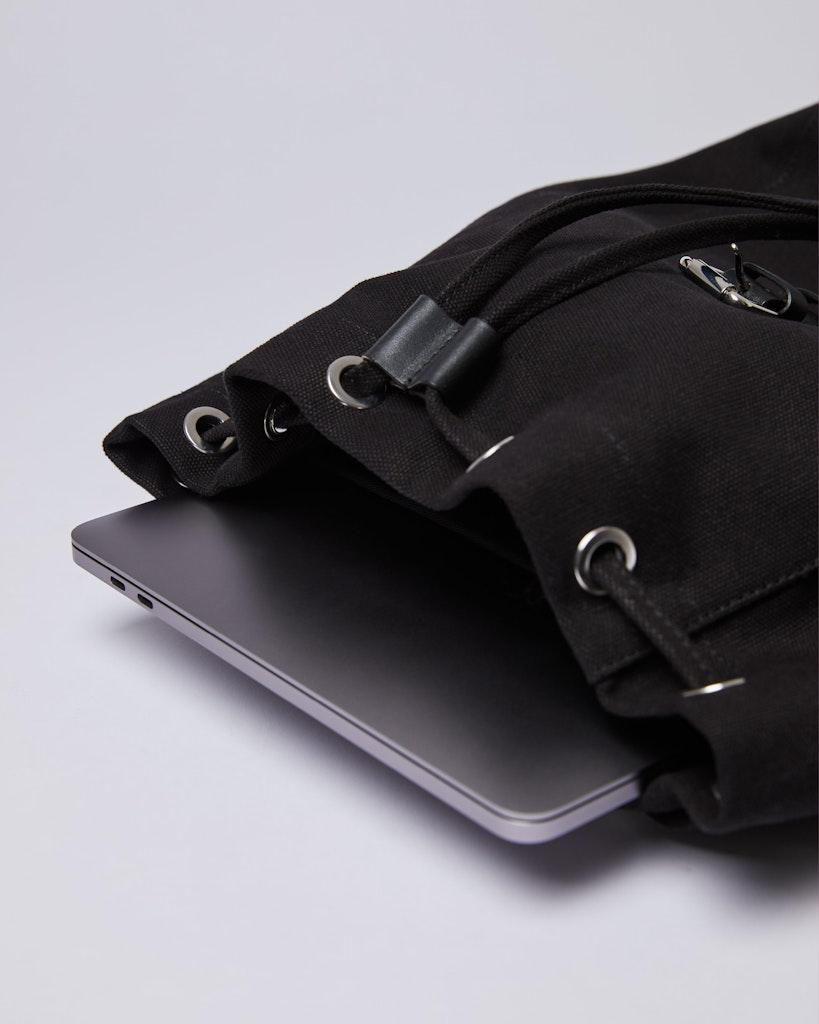 Sandqvist - Backpack - Black - ALVA 3