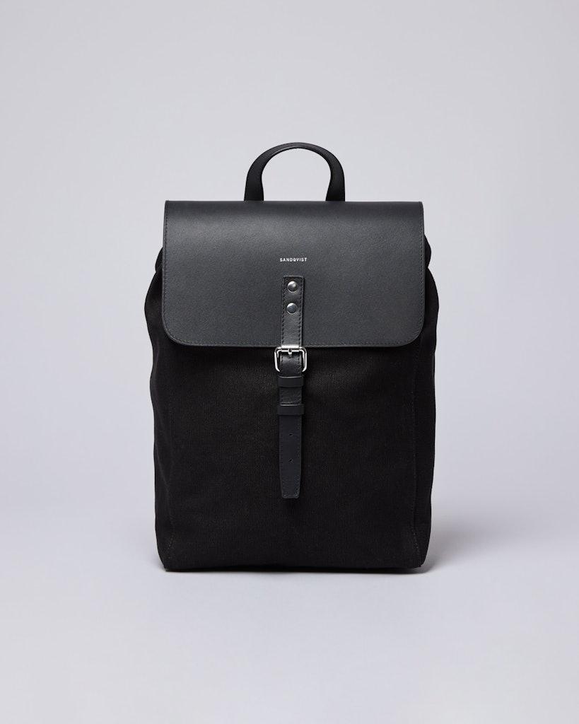 Sandqvist - Backpack - Black - ALVA