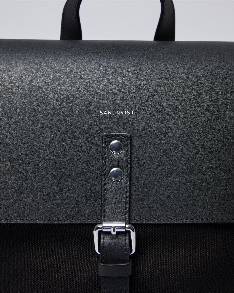 Sandqvist - Backpack - Black - ALVA 2