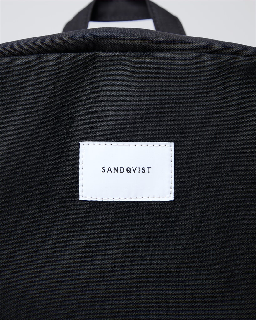 Sandqvist - Backpack - Black - KIM 2