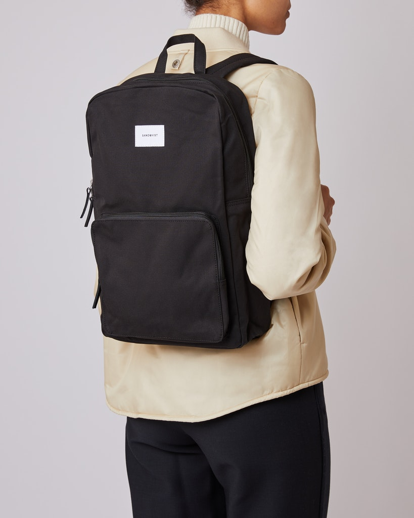 Sandqvist - Backpack - Black - KIM 4