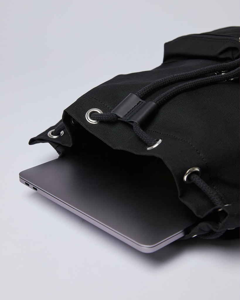 Sandqvist - Backpack - Black - ROALD 4