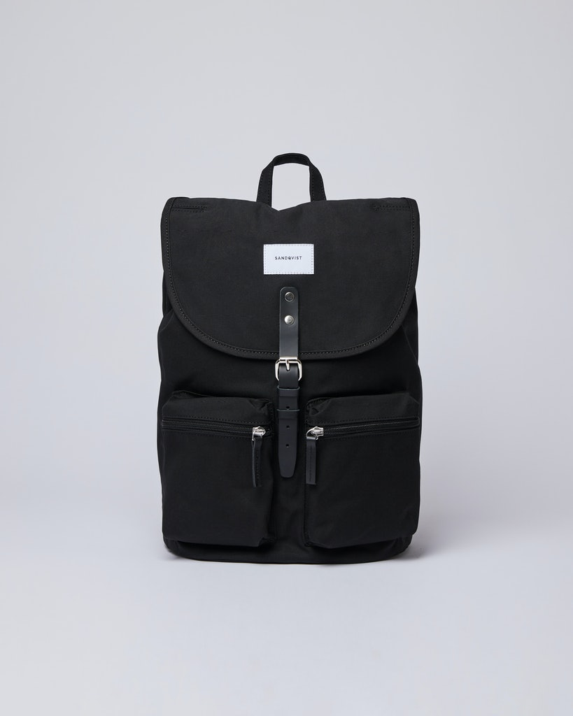 Sandqvist - Backpack - Black - ROALD