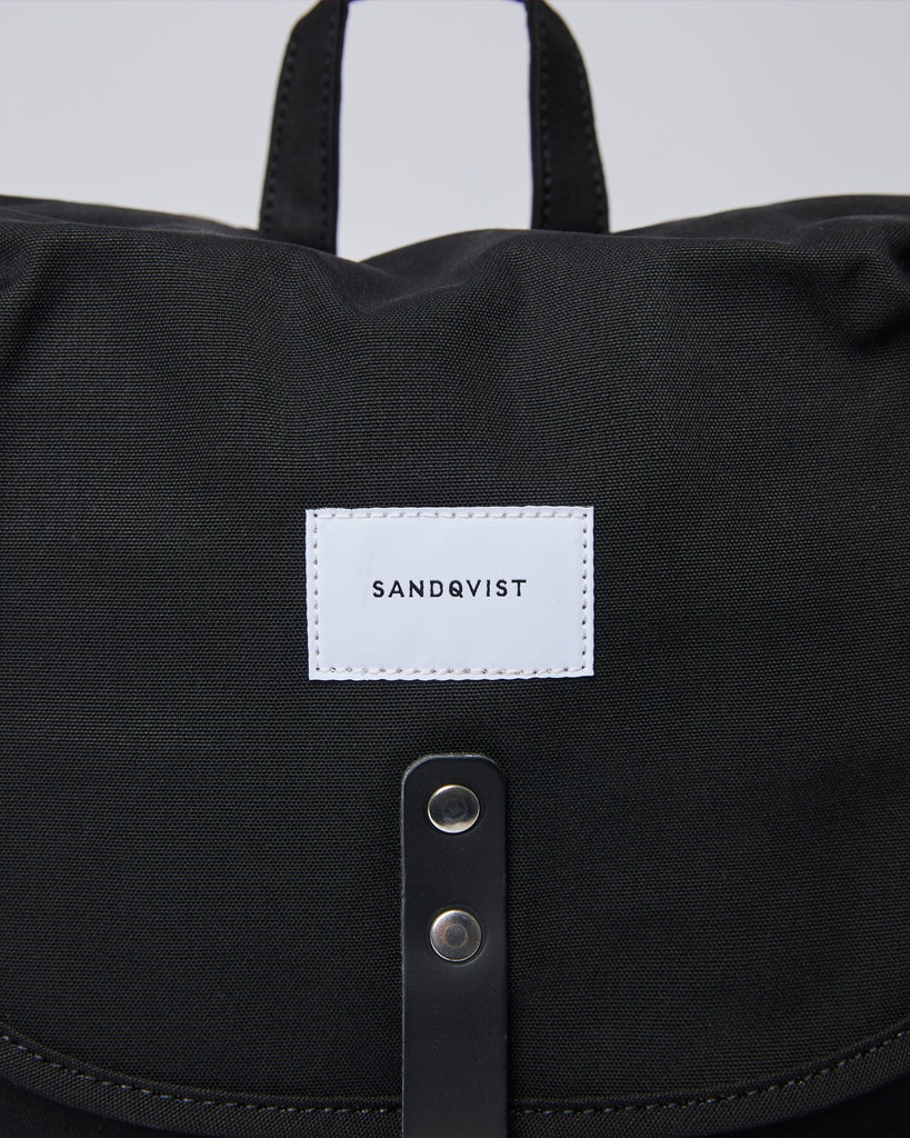 Sandqvist - Backpack - Black - ROALD 1