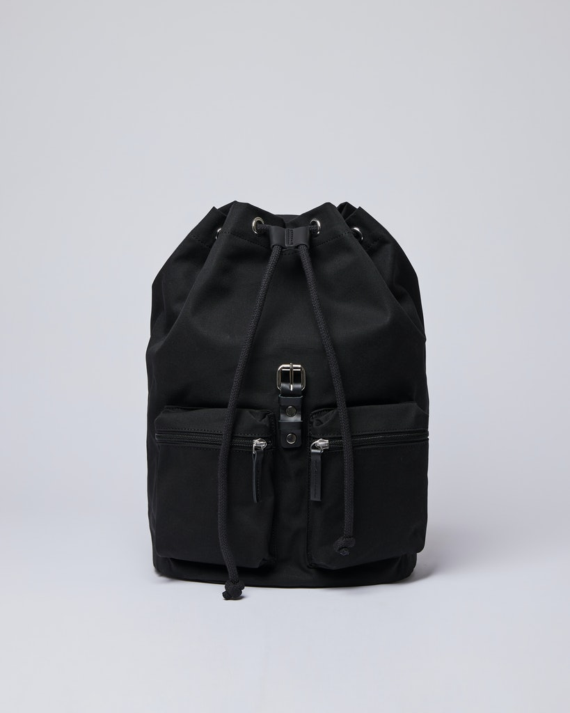 Sandqvist - Backpack - Black - ROALD 5