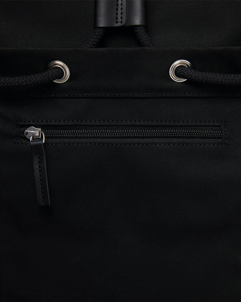 Sandqvist - Backpack - Black - ROALD 6