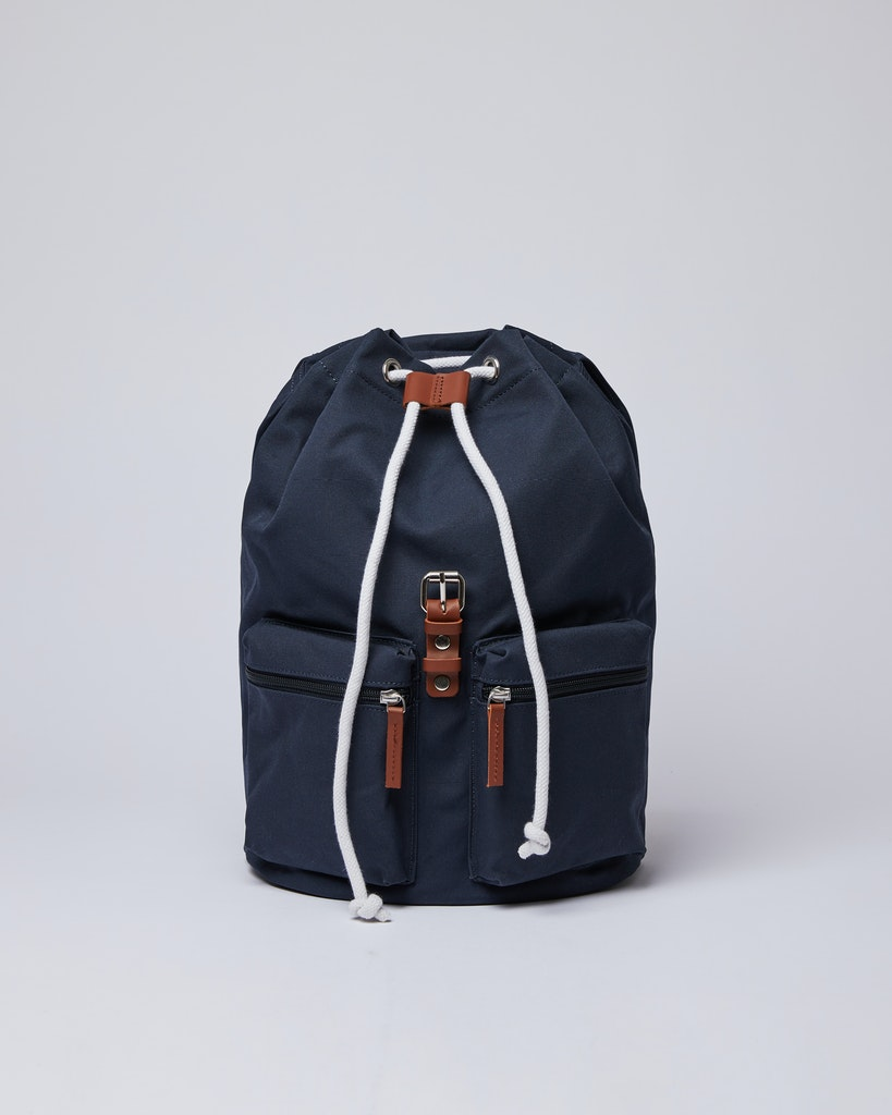 Sandqvist - Backpack - Navy - ROALD 3
