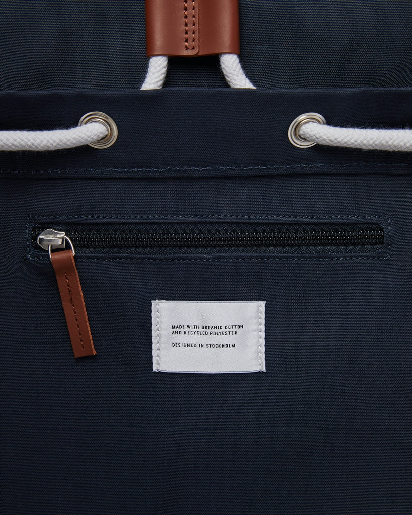 Sandqvist - Backpack - Navy - ROALD 5