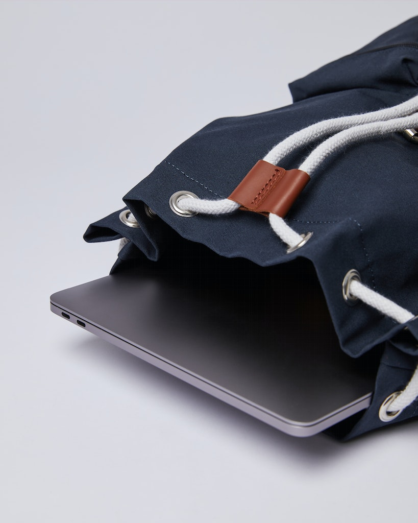 Sandqvist - Backpack - Navy - ROALD 4