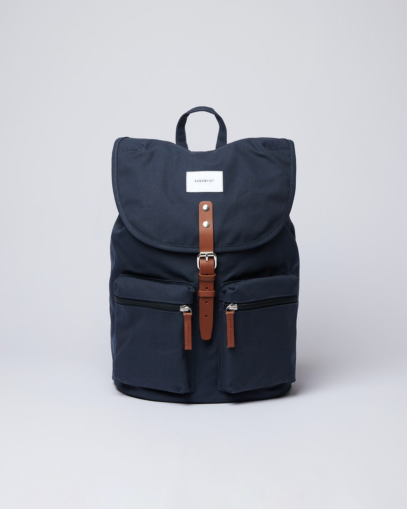 Sandqvist - Backpack - Navy - ROALD