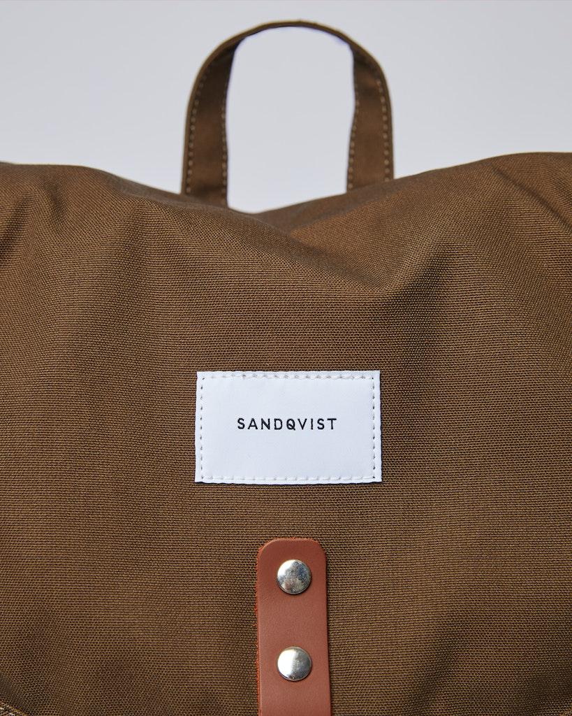 Sandqvist - Backpack - Green - ROALD 1