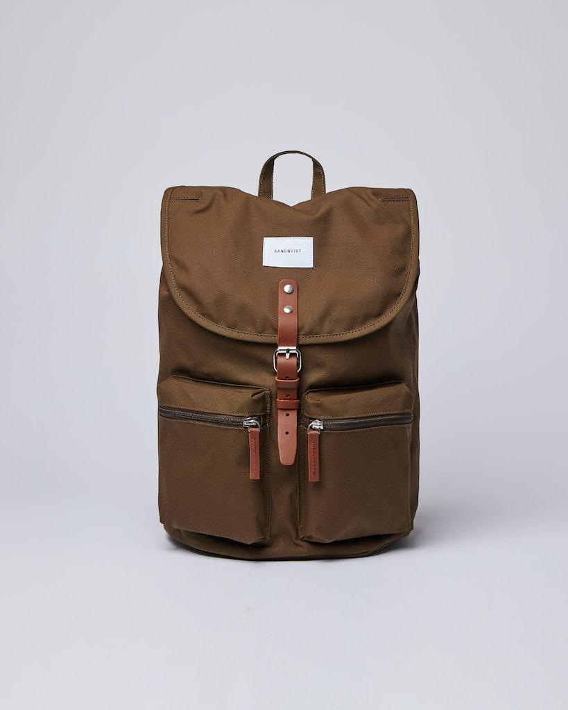 Sandqvist - Backpack - Green - ROALD