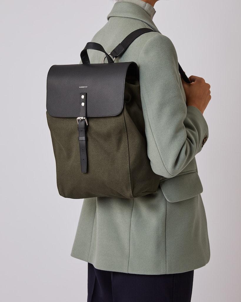 Sandqvist - Backpack - Green - ALVA 6
