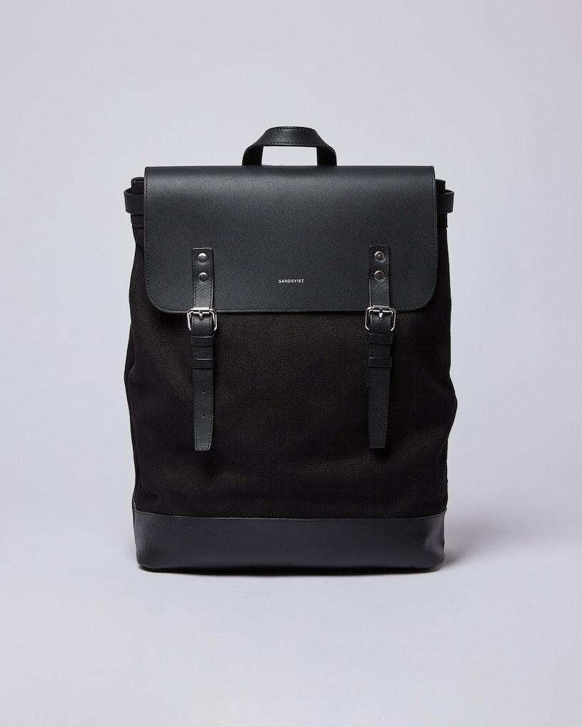 Sandqvist - Backpack - Black - HEGE