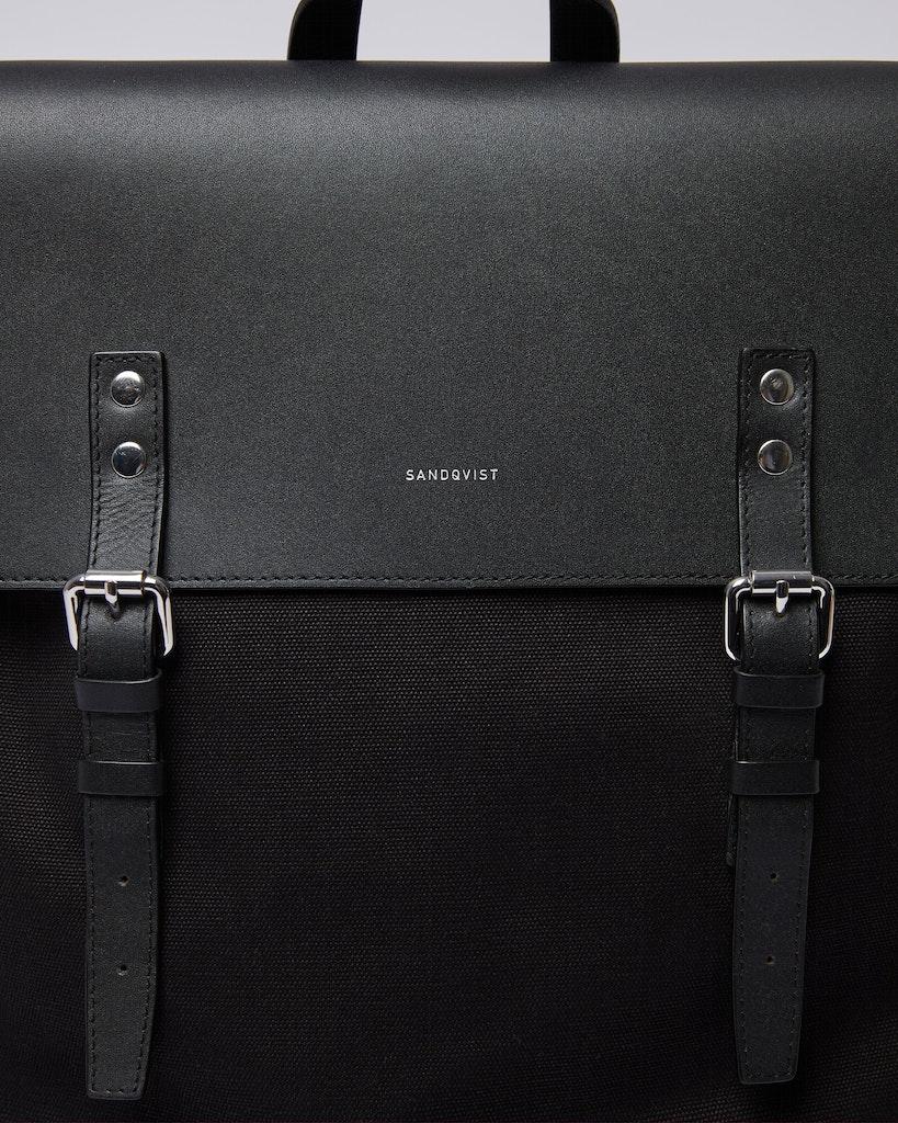 Sandqvist - Backpack - Black - HEGE 1