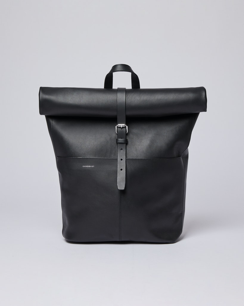 Sandqvist - Backpack - Black - ANTONIA
